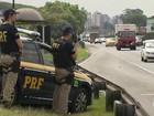 Polícia Rodoviária Federal aumenta o patrulhamento nas rodovias