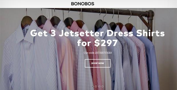 Varejista online de moda masculina Bonobos foi vendida para o Wal-Mart (Foto: Reprodução)