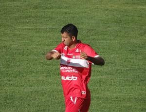 Daniel Marques, zagueiro do CRB (Foto: Leonardo Freire/GloboEsporte.com)