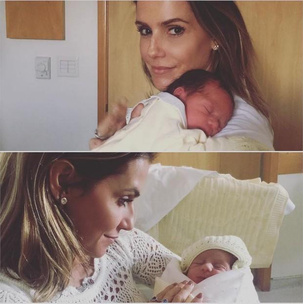 Deborah Secco posa com os sobrinhos (Foto: Reprodução/Instagram)