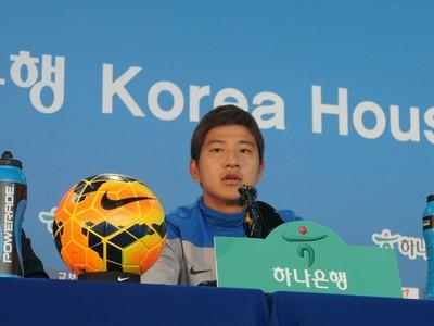 coreia do sul; foz do iguaçu; copa do mundo; paraná; Park Joo-Ho (Foto: Fabiula Wurmeister)