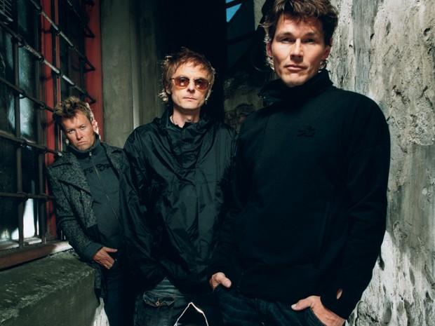 O grupo A-ha em foto de divulgação dos últimos anos da banda, quando vieram ao Brasil (Foto: Divulgação)