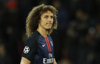 Chelsea tenta zagueiro David Luiz e oferece R$ 148 milhões para o PSG