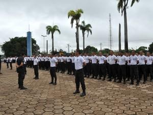 Novos agentes serão distribuídos em 18 unidades do Estado, segundo a Sejus (Foto: Assessoria/Sejus-RO/Divulgação)