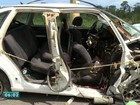 Sete pessoas da mesma família ficam feridas em acidente no ES