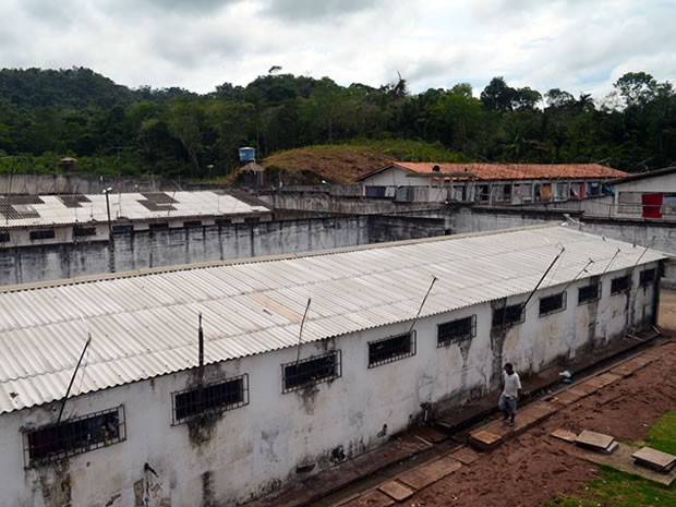 Centro de Recuperação Agrícola Silvio Hall de Moura possui 543 detentos (Foto: Luana Leão/G1)