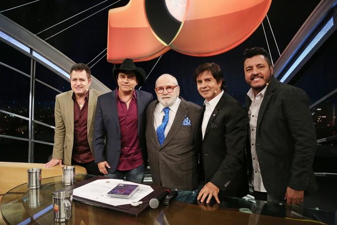 Que quinteto! (Foto: Carol Caminha/Gshow)