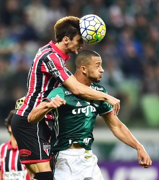 Rodrigo Caio Vitor Hugo São Paulo Palmeiras (Foto: Marcos Ribolli)