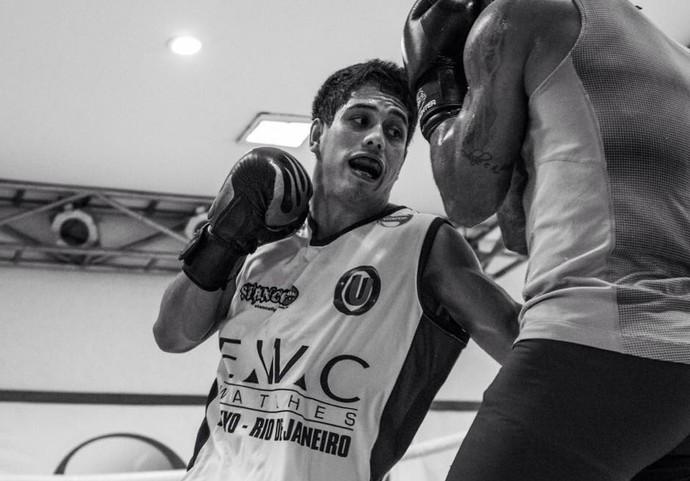 Jafel Filho durante treinamento na Nova União (Foto: Dan Behr)
