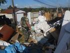 Polícia Ambiental fiscaliza despejo irregular de lixo em Ponta Grossa