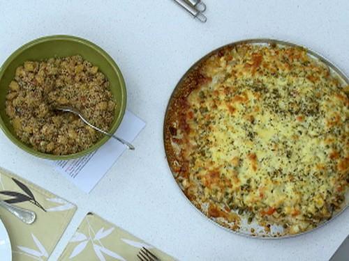 Pizza de Peixe da mãe de Luan Santana