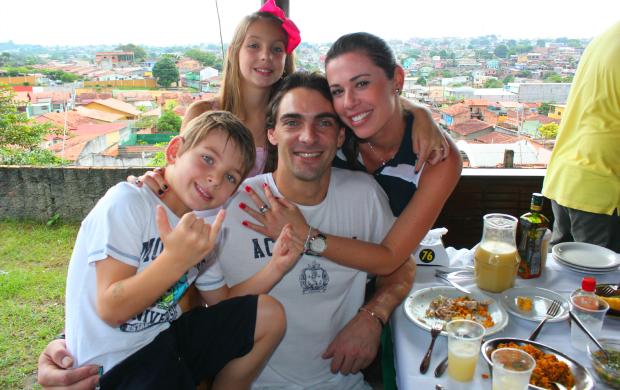 Giba em Manaus (Foto: Alírio Lucas)