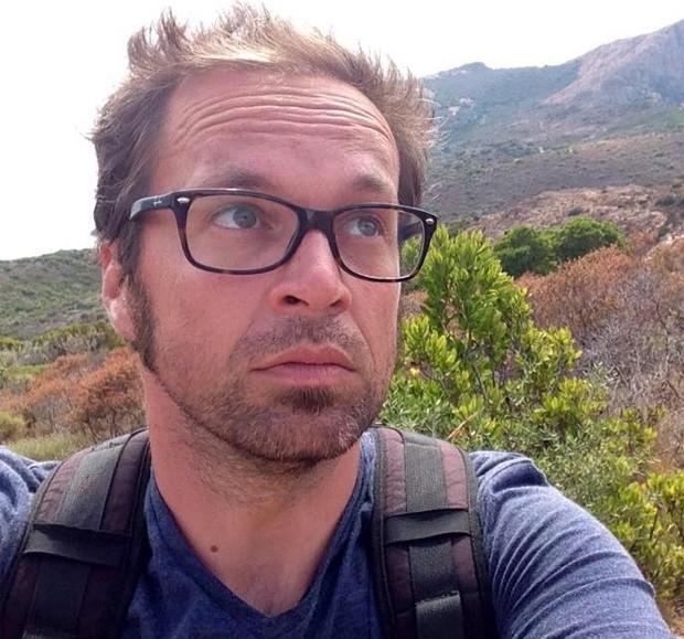 Mathieu Hoche, francês de 38 anos, técnico da TV France 24, também morto no Bataclan (Foto: Reprodução/ Facebook)