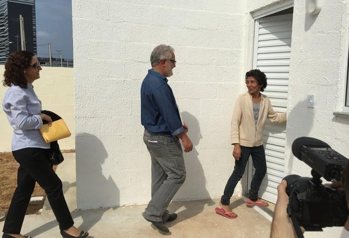 Maria da Penha, Jorge Arraes, Vila Autódromo (Foto: Adriano Albuquerque)