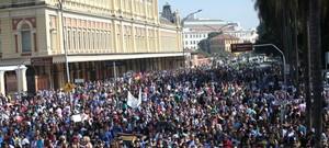 * Milhares participam da Marcha para Jesus 2015 em São Paulo.