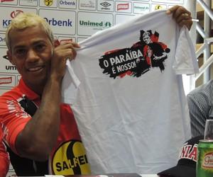 Marcelinho Paraíba Joinville meia (Foto: João Lucas Cardoso)