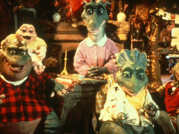 Familia Dinossauros (Foto: CEDOC/TV Globo)