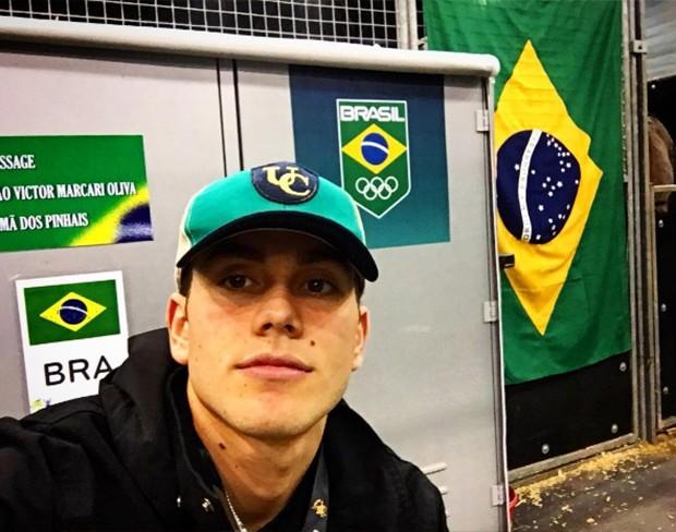 João Victor Marcari Oliva (Foto: Reprodução/ Instagram)
