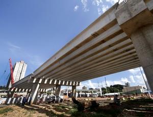 Viaduto do Despraiado, Obras para a Copa do Mundo em Cuiabá (Foto: Edson Rodrigues/Secopa)