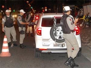 Blitzen flagraram 49 motoristas embriagados (Foto: Divulgação/BPTran)