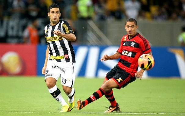 Flamengo x Botafogo (Foto: Reprodução / TV Globo)
