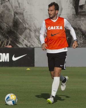 Edu Dracena Corinthians (Foto: Daniel Augusto Jr / Agência Corinthians)