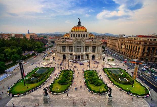 Cidade do México, México  (Foto: Reprodução / Pinterest)