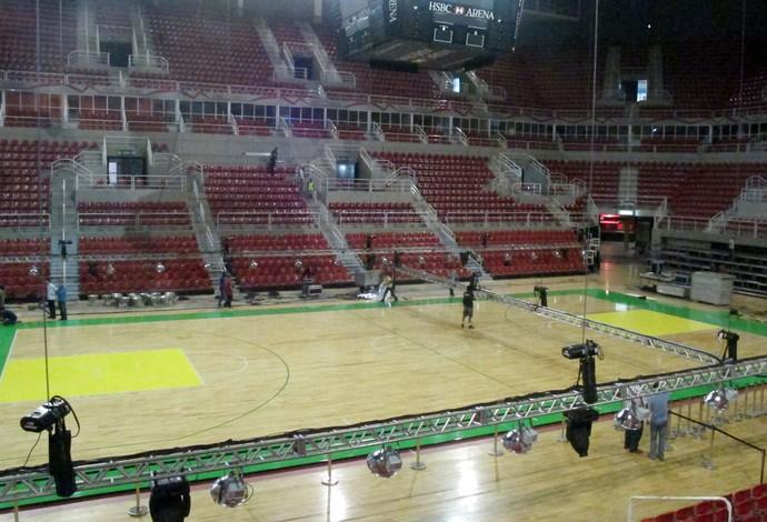 NBA Global Tour - Quadra (Foto: Fabio Leme)