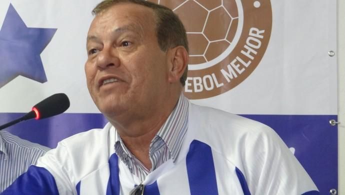 Rafael Tenório, vice financeiro do CSA (Foto: Paulo Victor Malta/Globoesporte.com)