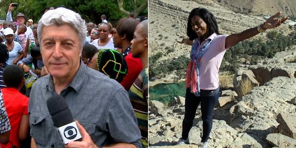 Caco Barcellos e Glória Maria trazem novidades para o Profissão Repórter e para o Globo Repórter (Foto: Globo)