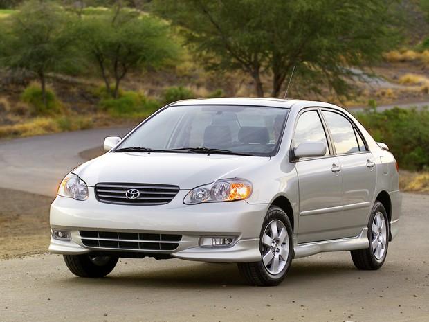 Toyota Corolla 2003-2006 (Foto: Divulgação)