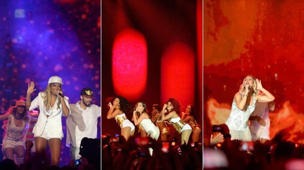 O funk marca presença na virada com Ludmilla, Anitta e Valesca Popozuda (Foto: Zé Paulo Cardeal/Globo)