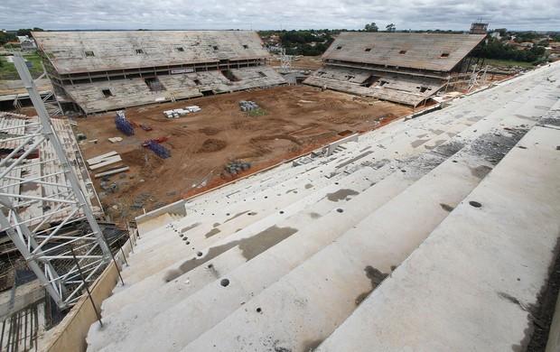 Arena Pantanal em Cuiabá - fev/13 (Foto: Edson Rodrigues/Secopa-MT)
