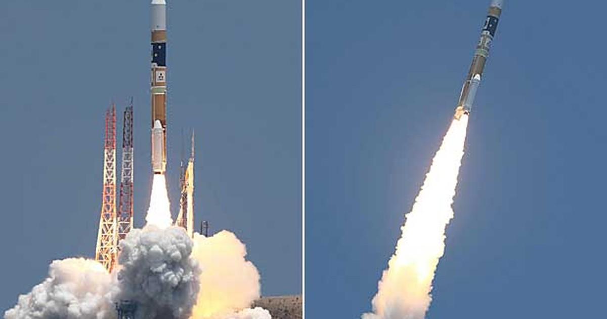 Foguete japonês decola com satélite de observação de catástrofes