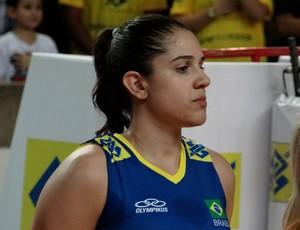 Natália, ponteira da seleção feminina de vôlei (Foto: Leonardo Freire/GloboEsporte.com)