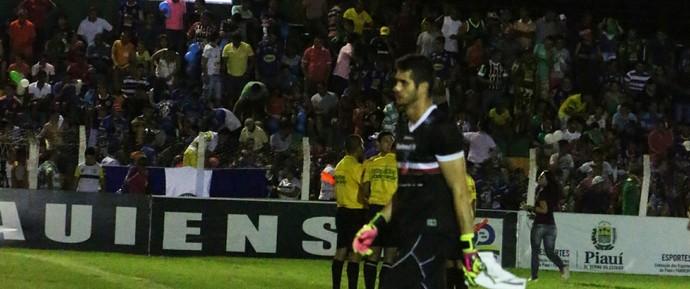 Dalton, final do returno do Campeonato Piauiense  (Foto: Renan Morais )