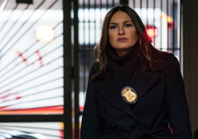 Mariska Hargitay em cena de 'Law & order: SVU' (Foto: Michael Parmelee/NBC)