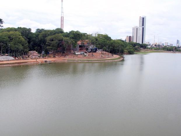 Parque das Águas, no entorno da lagoa Paiaguás, em Cuiabá (Foto: Luiz Alves/Prefeitura de Cuiabá)