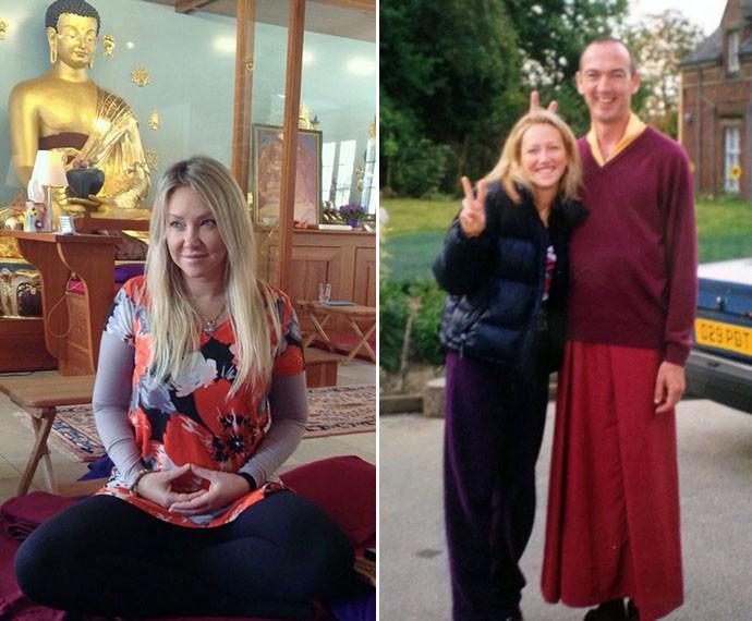 Deborah começou a estudar o budismo em 1999 (Foto: Arquivo Pessoal)