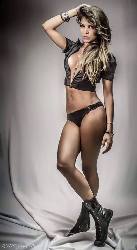 Modelo Lucilene Miranda (Foto: Arquivo Pessoal)