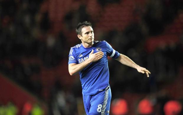 Lampard, soton e Chelsea (Foto: Agência Reuters)