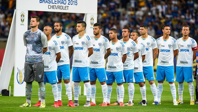 Avaí hino nacional (Foto:  Fred Magno/Light Press/Cruzeiro)