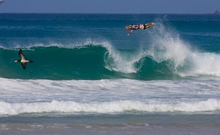 Voo de surfista