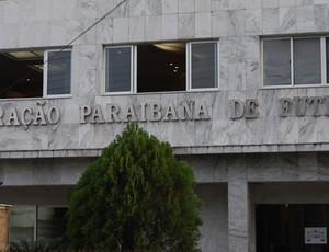 Federação Paraibana de Futebol (FPF) (Foto: Cadu Vieira)