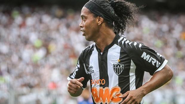 Ronaldinho Gaúcho, meia do Atlético-MG (Foto: Bruno Cantini / Flickr do Atlético-MG)