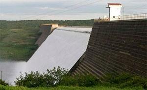 Barragem de Santa Cruz, em Apodi, fornecerá água para Mossoró e região (Foto: Canindé Soares)