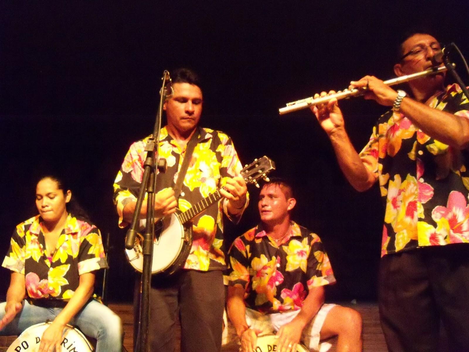 Tribo Regional de Algodoal apresenta os batuques do carimbó. (Foto: Divulgação)