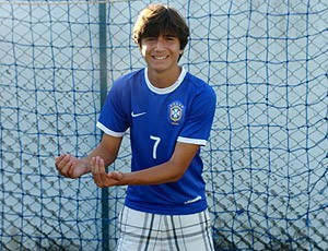 Mattheus filho Bebeto (Foto: Richard Fausto / GLOBOESPORTE.COM)