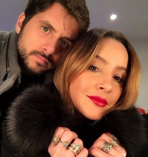 Claudia Leitte e o marido, Márcio Pedreira (Foto: Twitter/ Reprodução)