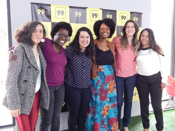 Marina Melo, Maitê Lourenço, Nana Soares, Roberta Castro, Ana Luisa Rolim e Sandra Regina Alves (Foto: Divulgação)